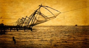 Chinese Fish Nets, Kerla, India