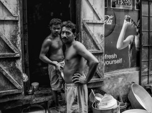 Angles and Elbows, Calcutta, India