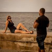 Saturday Afternoon on the Malecon - Havana, Cuba