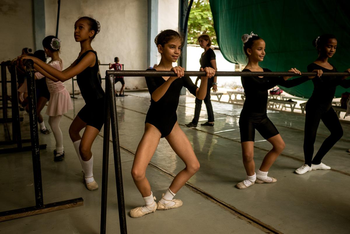 Cuba's Young Ballerinas