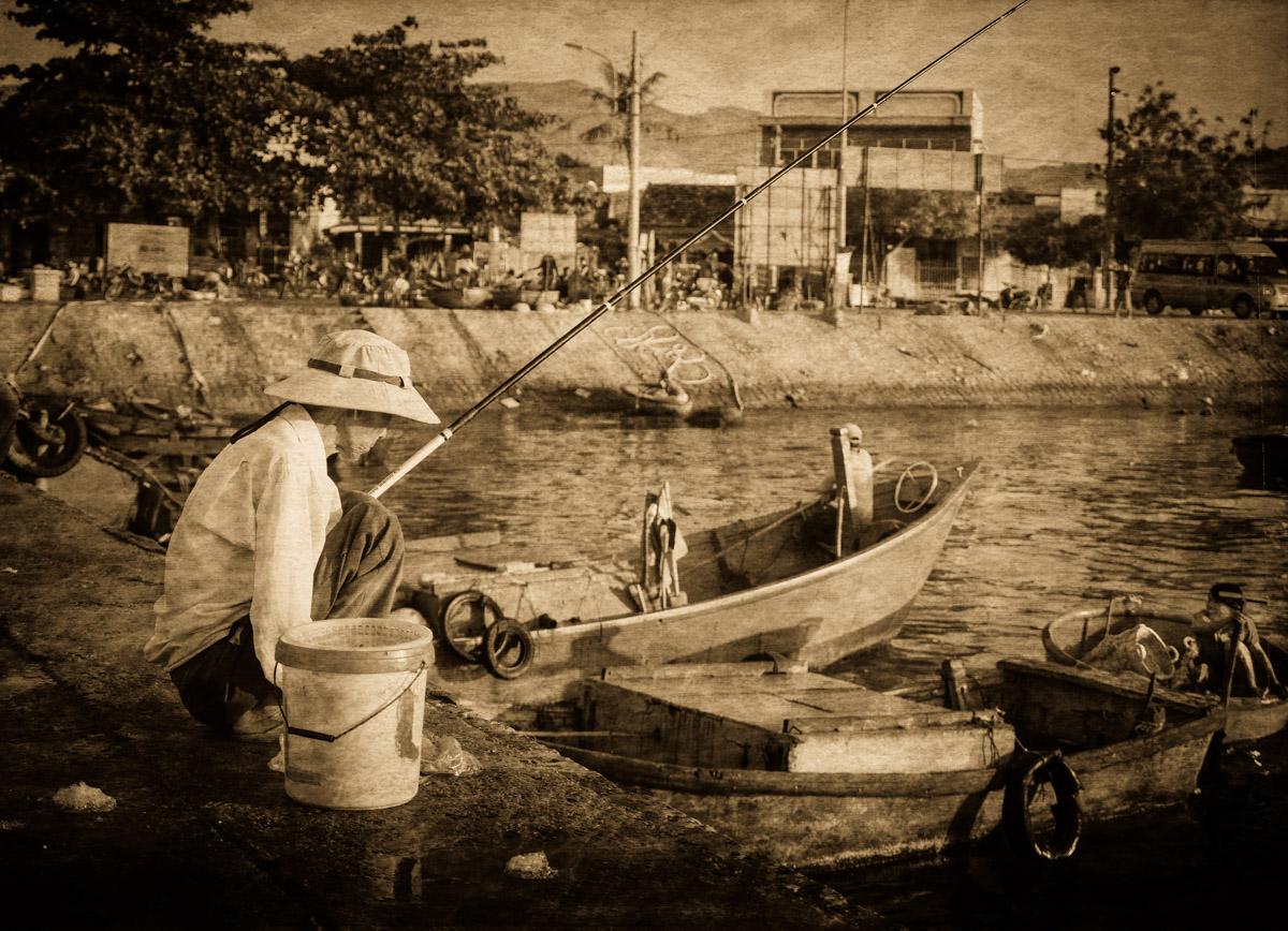 Fishing, Cam Ranh Bay, Vietnam