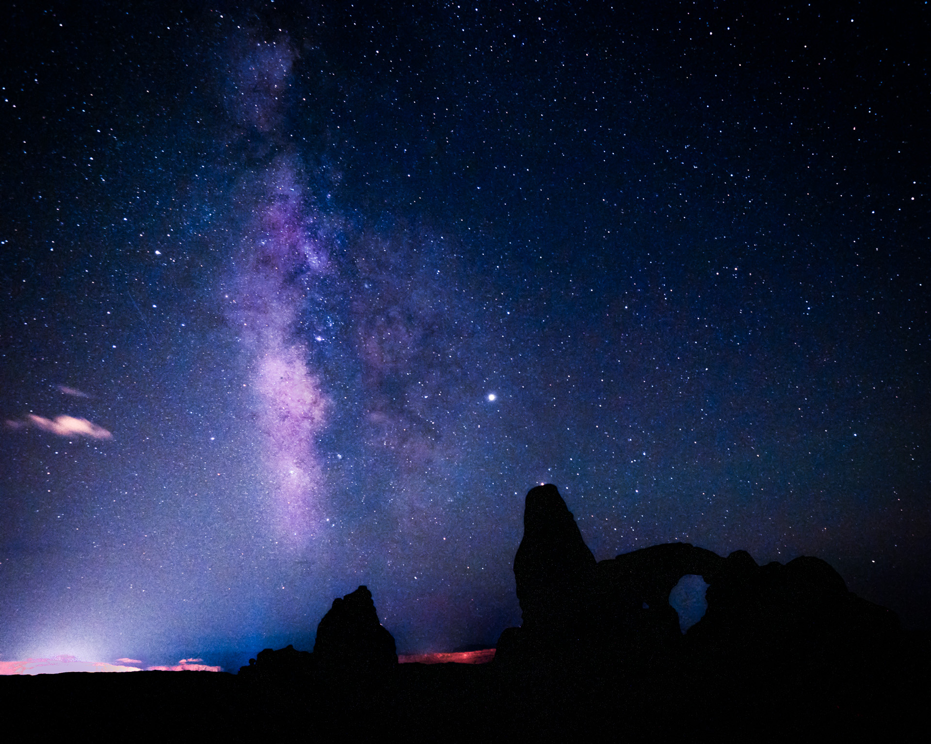 Milky Way, Arches National Park, Utah