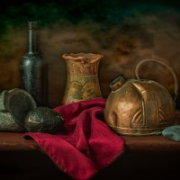 The Old Tea Kettle | a Still Life