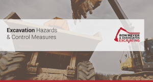 Excavation Hazards & Control Measures