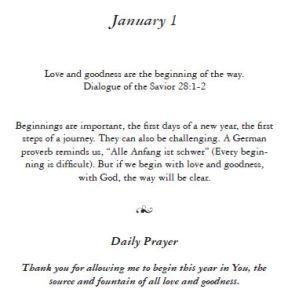 January 1 - Wisdom of the Carpenter