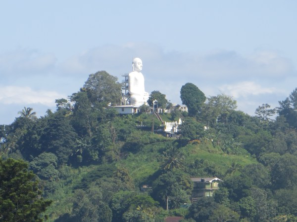 Buddha above Kandy