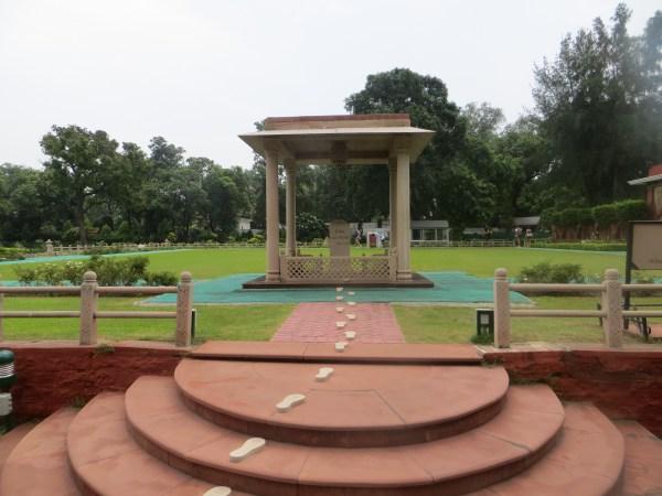 Where Gandhi took his last step...