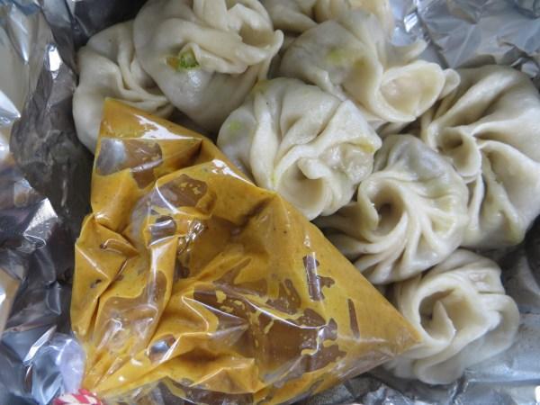 """Mutton dumplings from """"fast food"""""""