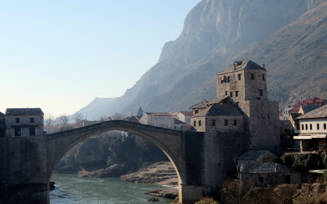 Three Views of Mostar, Bosnia