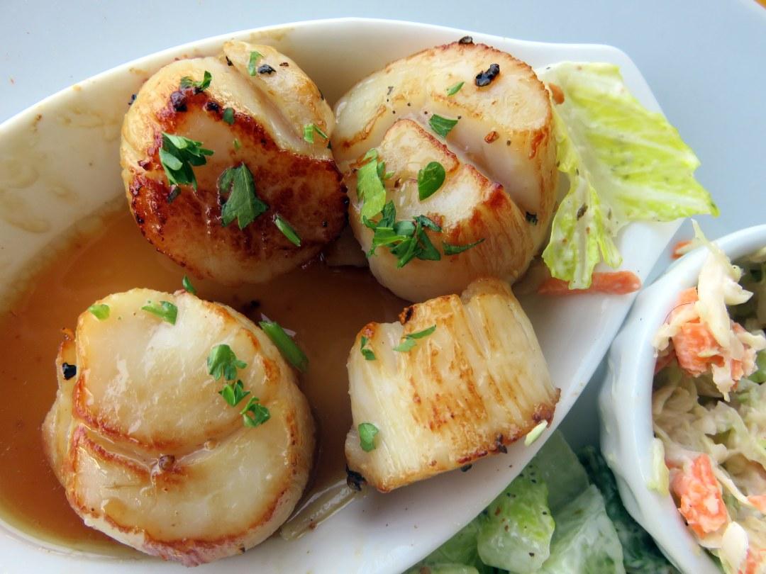 Nova Scotia scallops