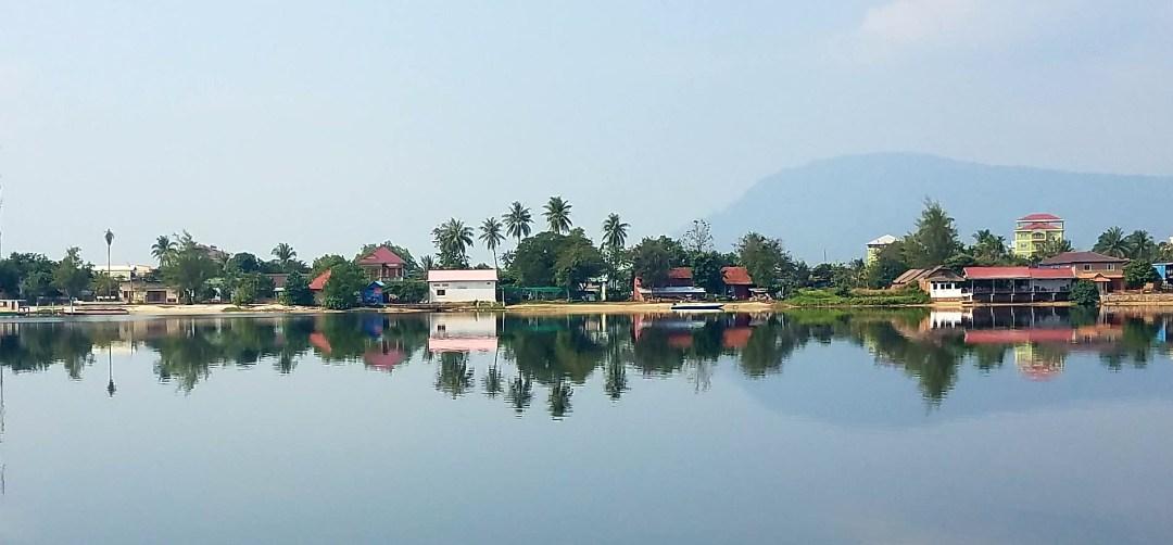 Views from Kampot riverside