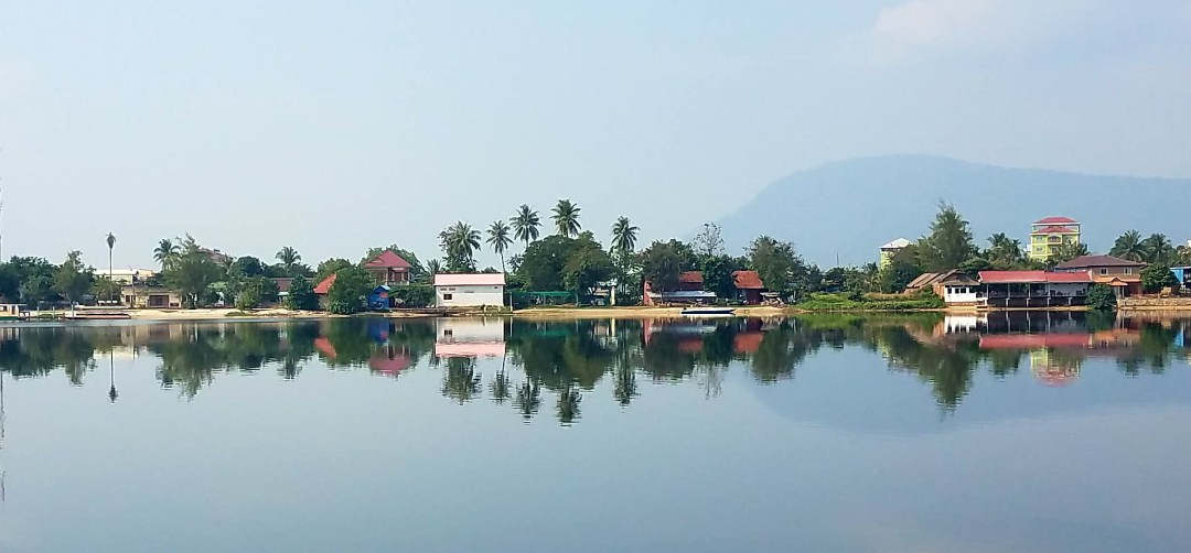 Views from Kampot riverside
