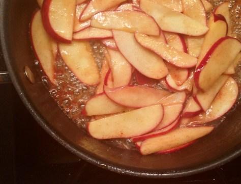 Apples Frying