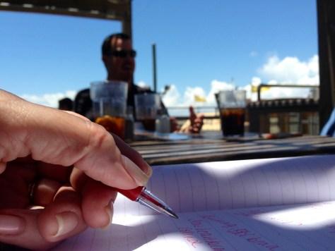 Josh Writing