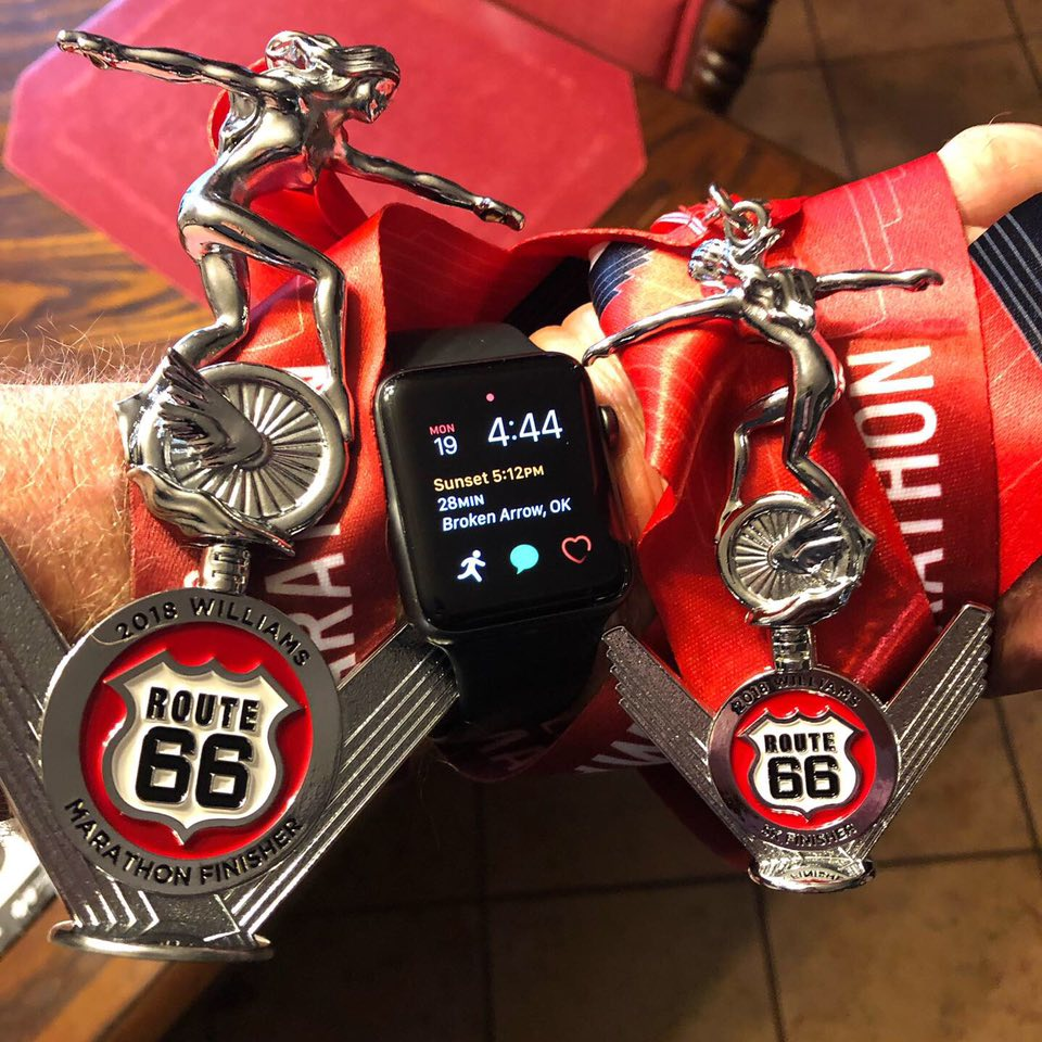 Medals Route 66