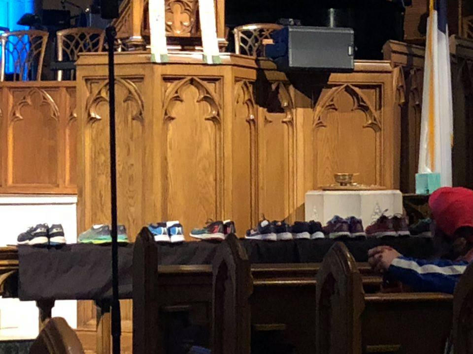 blessing of the shoes