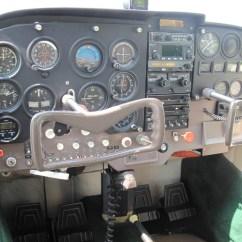 Cessna 172 Dashboard Diagram 2010 Ford Edge Fuse Box 1964 172e Ronnies Aircraft Sales Llp