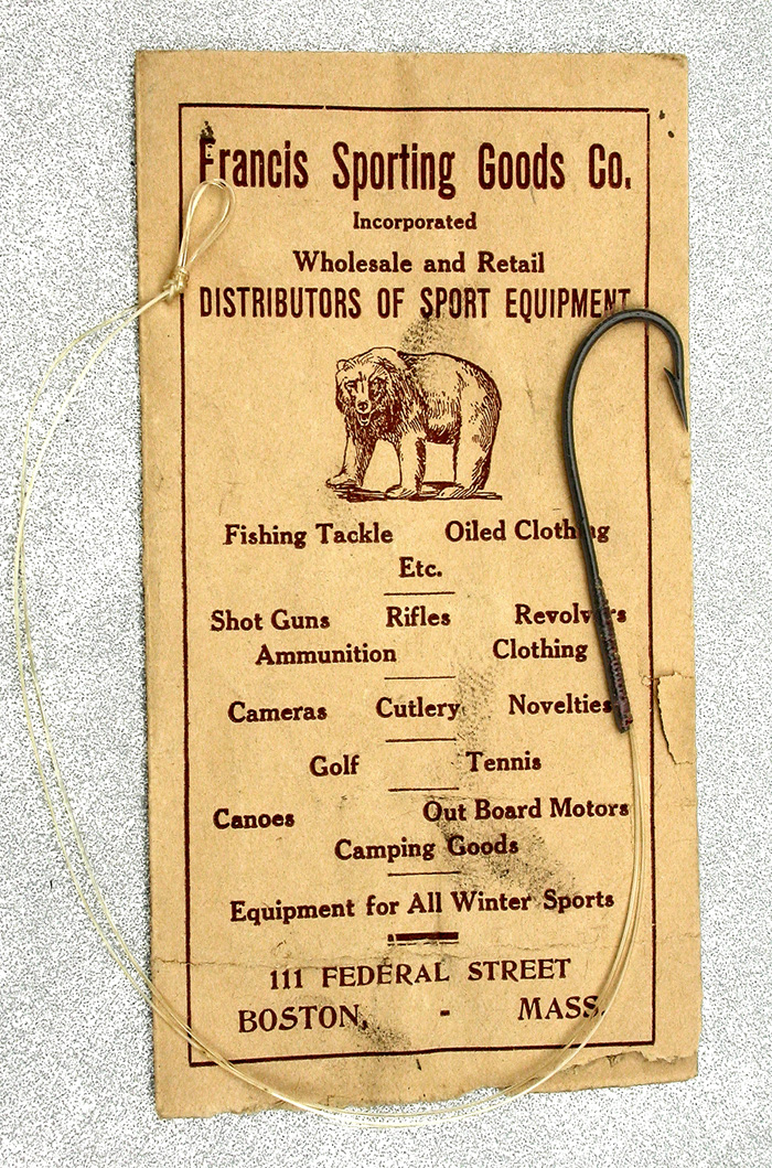 26a  Francis Sporting Goods, 3/0, sproat, japanned.
