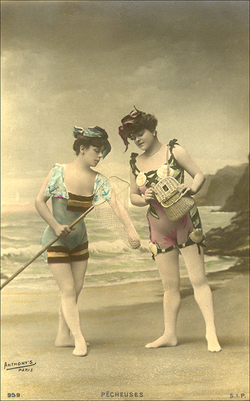French postcard