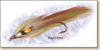 Rapid River tied by Carrie Stevens