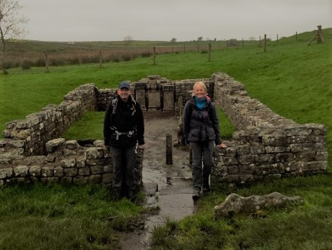 Hadrian's Wall Day 3 – Spectacular but wet!