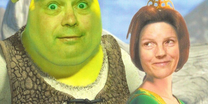 Shrek and Princess Fiona