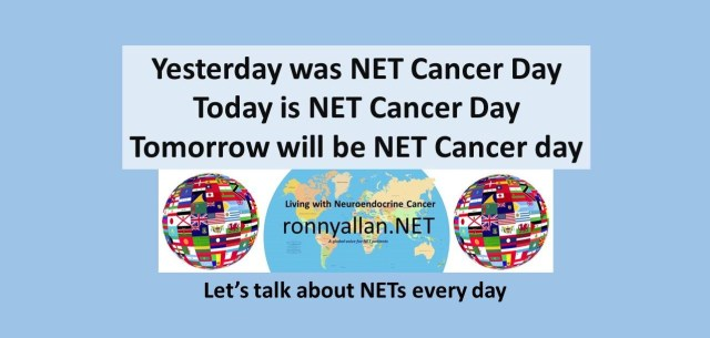 Every day is NET Cancer Day