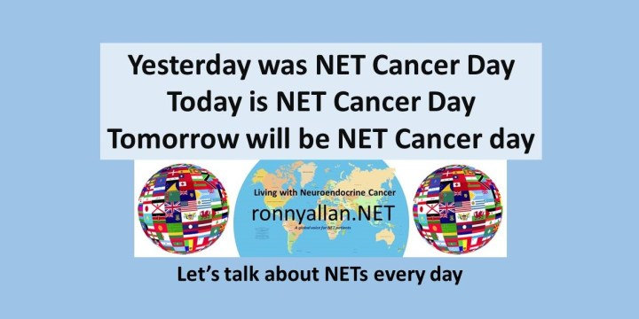 Every Day is NET Cancer Day!