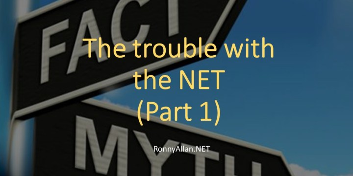 The trouble with the 'NET' – Part 1 – Cancer Myths