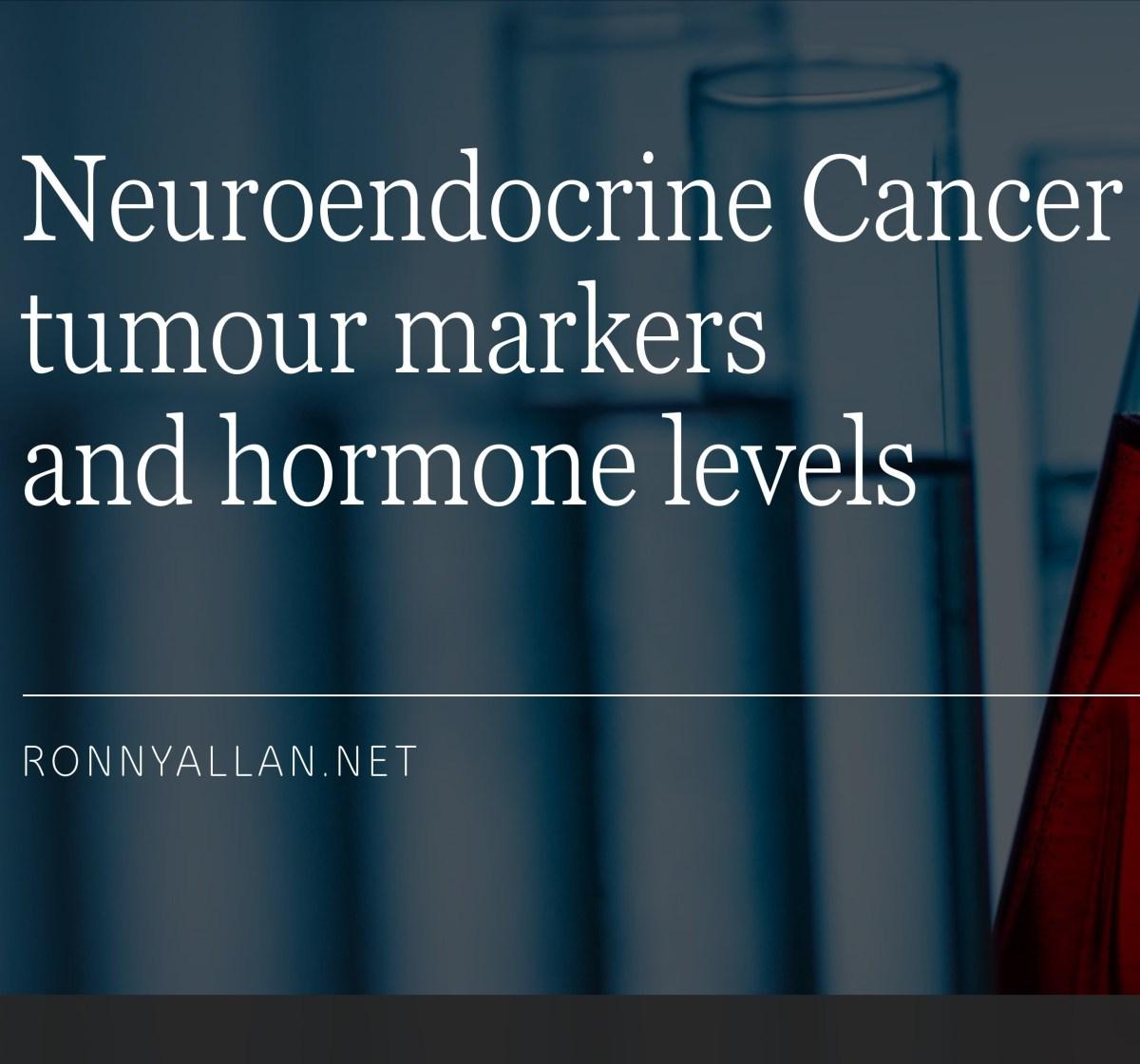 neuroendocrine cancer tumor markers