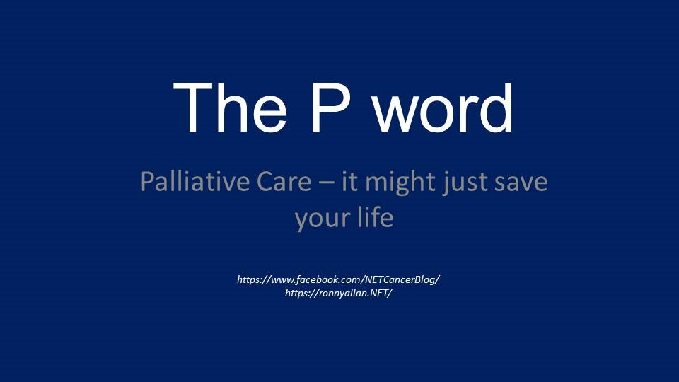 Palliative Care - it might just save your life