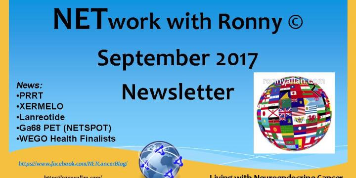 NETwork with Ronny © – Community Newsletter SEPTEMBER 2017
