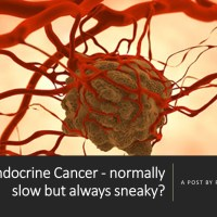 Neuroendocrine Cancer - normally slow but always sneaky