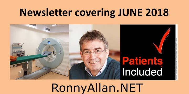 RonnyAllan.NET – Community Newsletter JUNE 2018