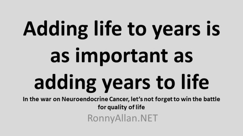 Adding life to years is as important as