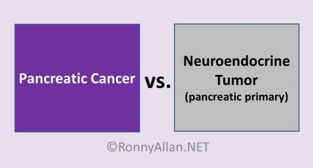 pancreatic vs neuroendocrine