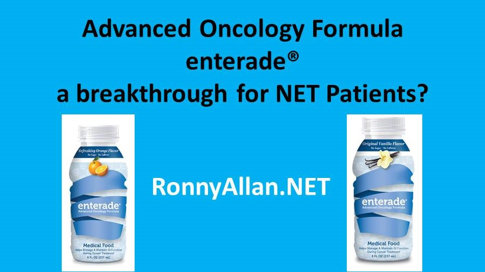 Advanced Oncology Formula enterade® – a breakthrough for NET Patients?