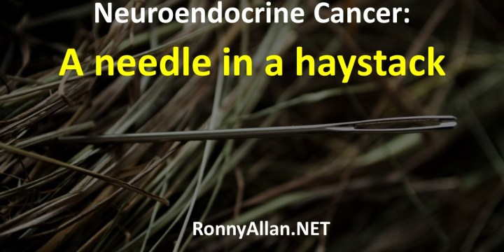 Neuroendocrine Cancer: a needle in a haystack?