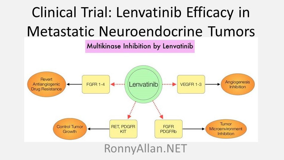 Clinical Trial: Lenvatinib Efficacy in Metastatic Neuroendocrine Tumors (TALENT)