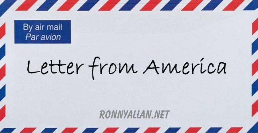 letter from america envelope