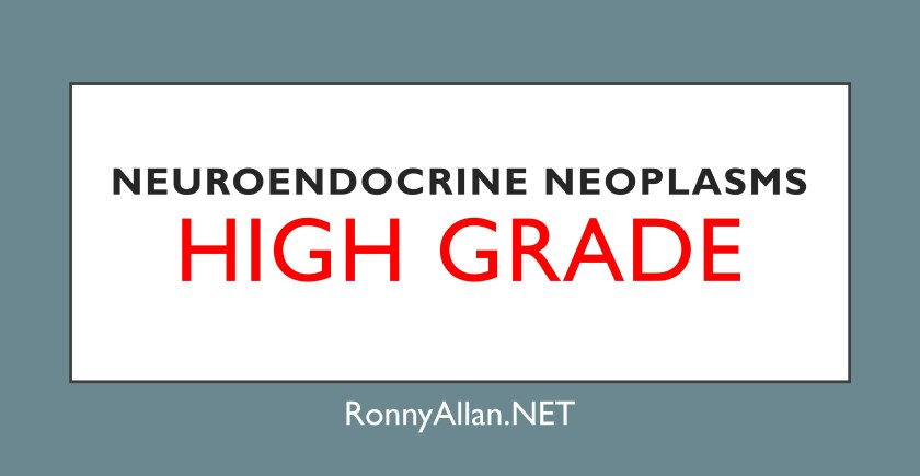 Neuroendocrine Tumours – Page 2 – Ronny Allan – Living with