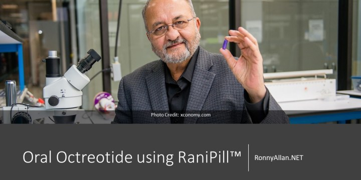 Oral Octreotide using RaniPill™