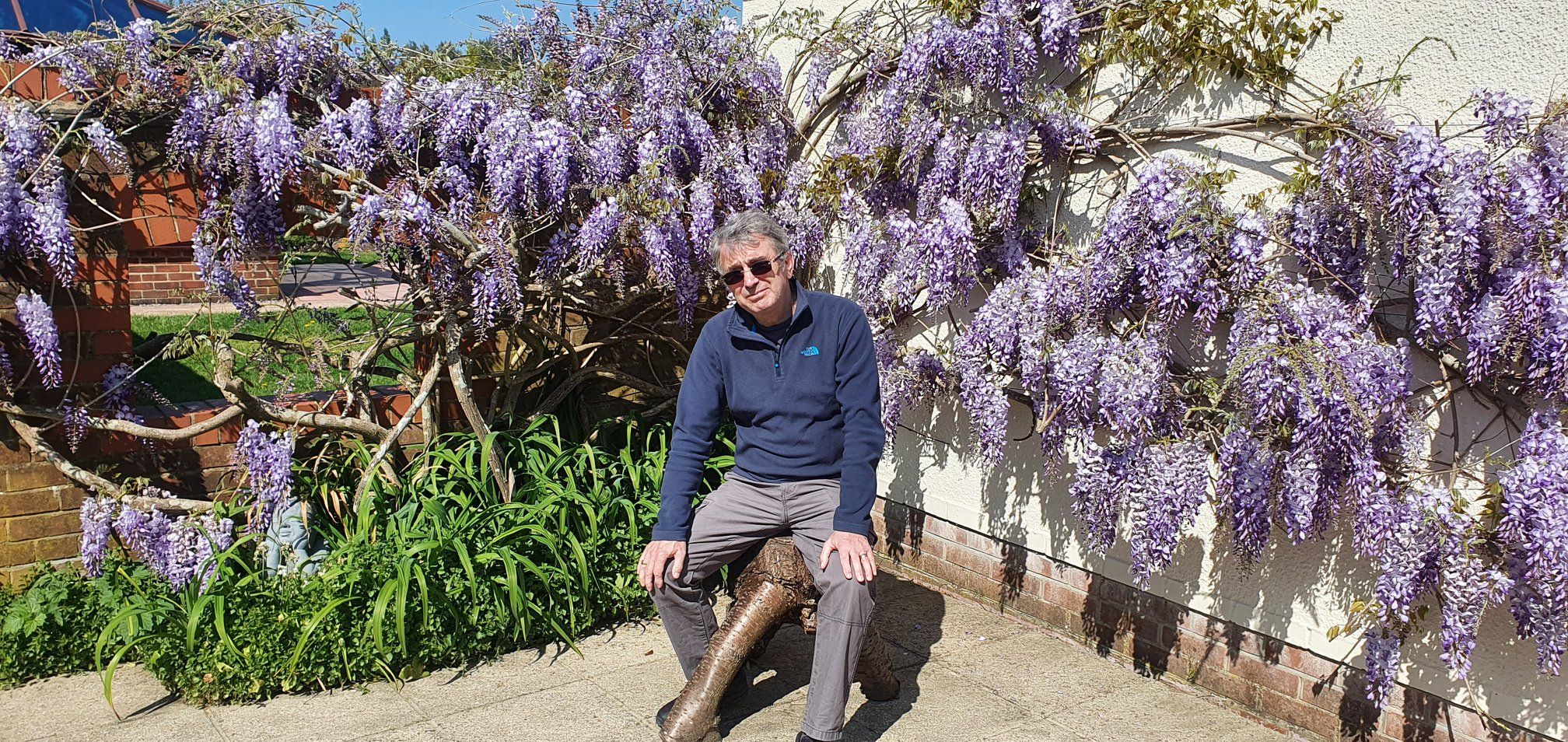 Ronny Allan:  Living with Neuroendocrine Cancer during COVID-19 restrictions 4 – A story of bikes, ponies, wisteria and Vitamin D