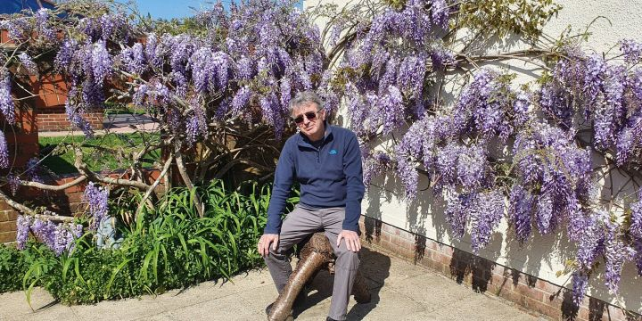 Ronny Allan:  Living with Neuroendocrine Cancer during COVID-19 restrictions (Episode 4) – A story of bikes, ponies, wisteria and Vitamin D