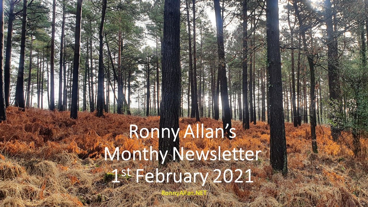 Ronny Allan Newsletter – 1st February 2021