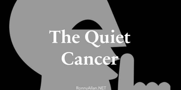 Neuroendocrine Cancer – I didn't hear it coming