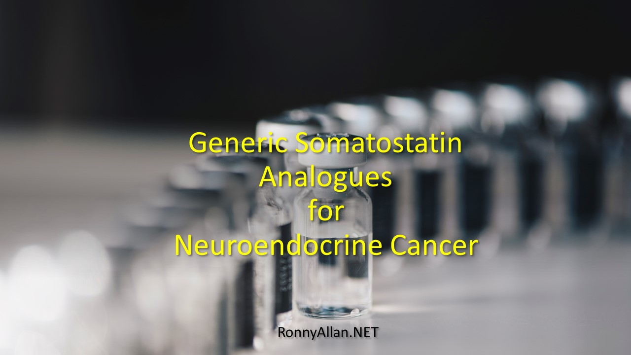 Generic Somatostatin Analogues for Neuroendocrine Cancer