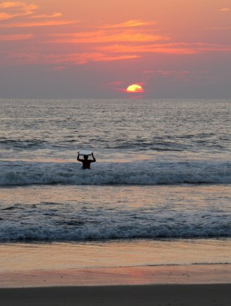 Sunset on Surf