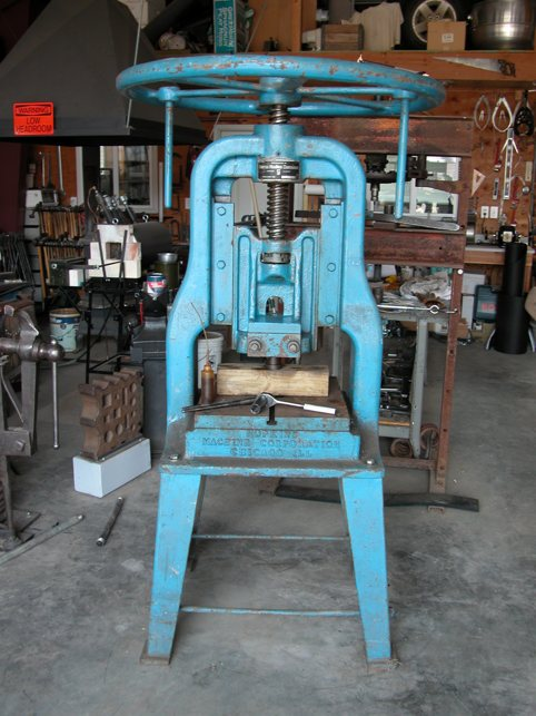 Manual Screw Press For Sale