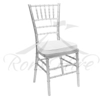 Silver Tiffany Chair Ron's Hire Event & Function Hire